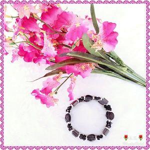 Hematite Magnetic Multipurpose Bracelet / Necklace